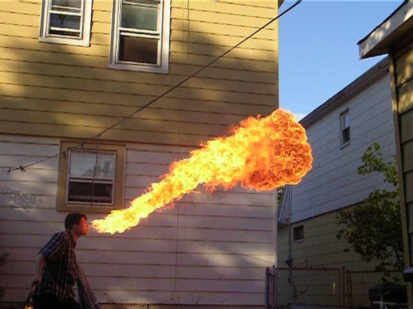 Torches and Firebreathing