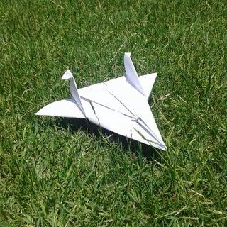 Cartoon-Inspired Origami Planes