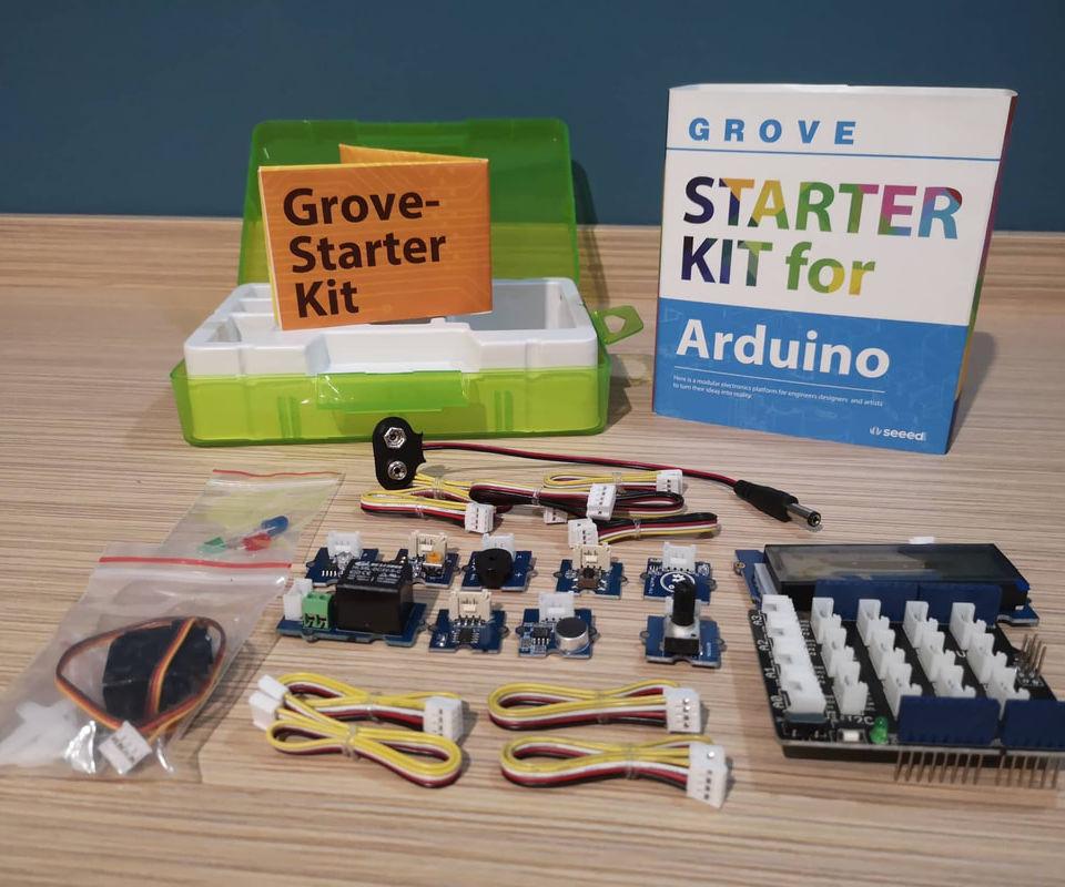 Seeed Studio Grove Arduino Starter Kit