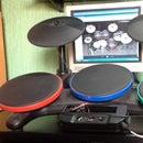 Arduino MIDI Drums (Wii Band Hero)+DAW+VST