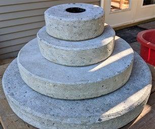 如何制作奥运混凝土重量板自制指南