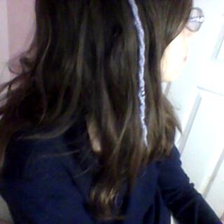 Hair Wrap With Yarn!!!!!