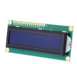 教程Arduino显示16x2
