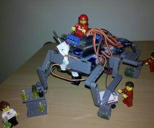Lego Quadruped Robot