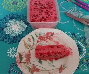 葡萄干樱桃冰淇淋