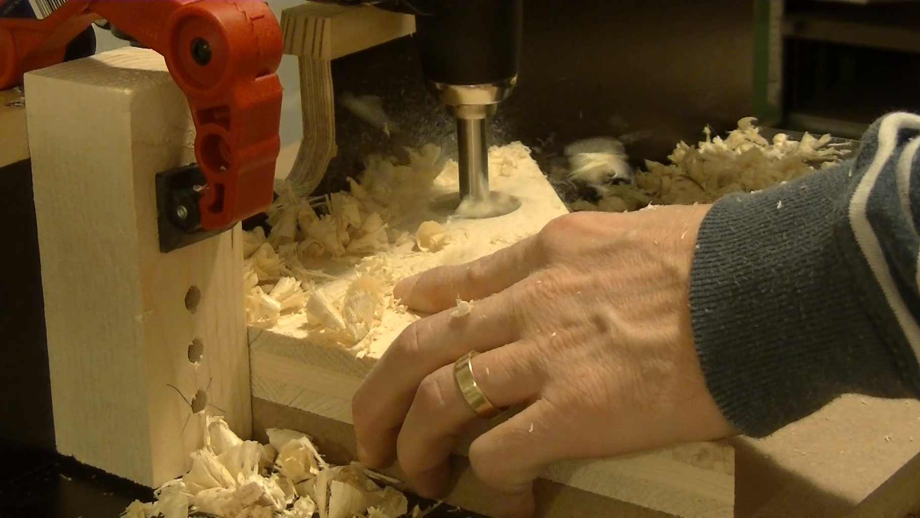 Holes for the Clamps