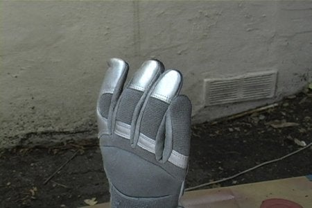 Paint and Glove