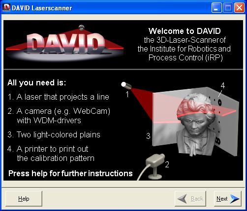 David 3D Scanner ...Or Not.