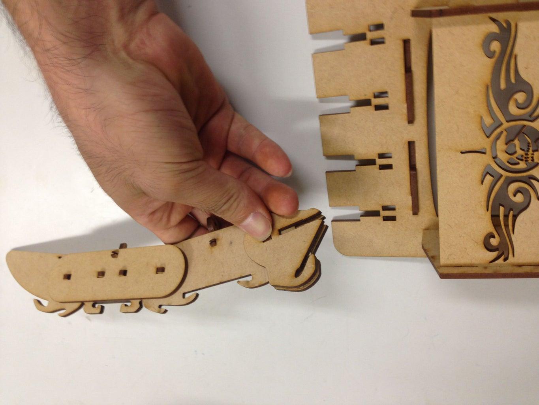 Combination 連結手指與手掌