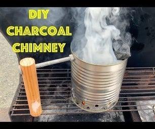 Make a CHARCOAL CHIMNEY