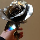 Steel Sheet Metal Flower