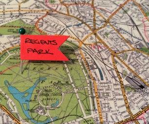 Choose Your Adventure | London Map & Flag Set