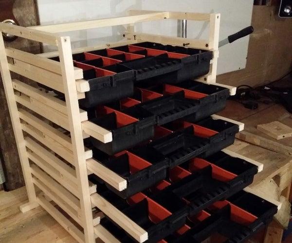Storage Rack for Screws