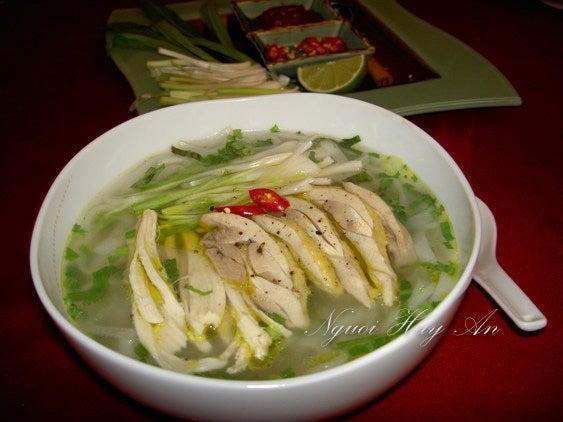 Chicken Pho Noodle Soup Recipe (Pho Ga)