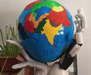地球模型在更安全的手中