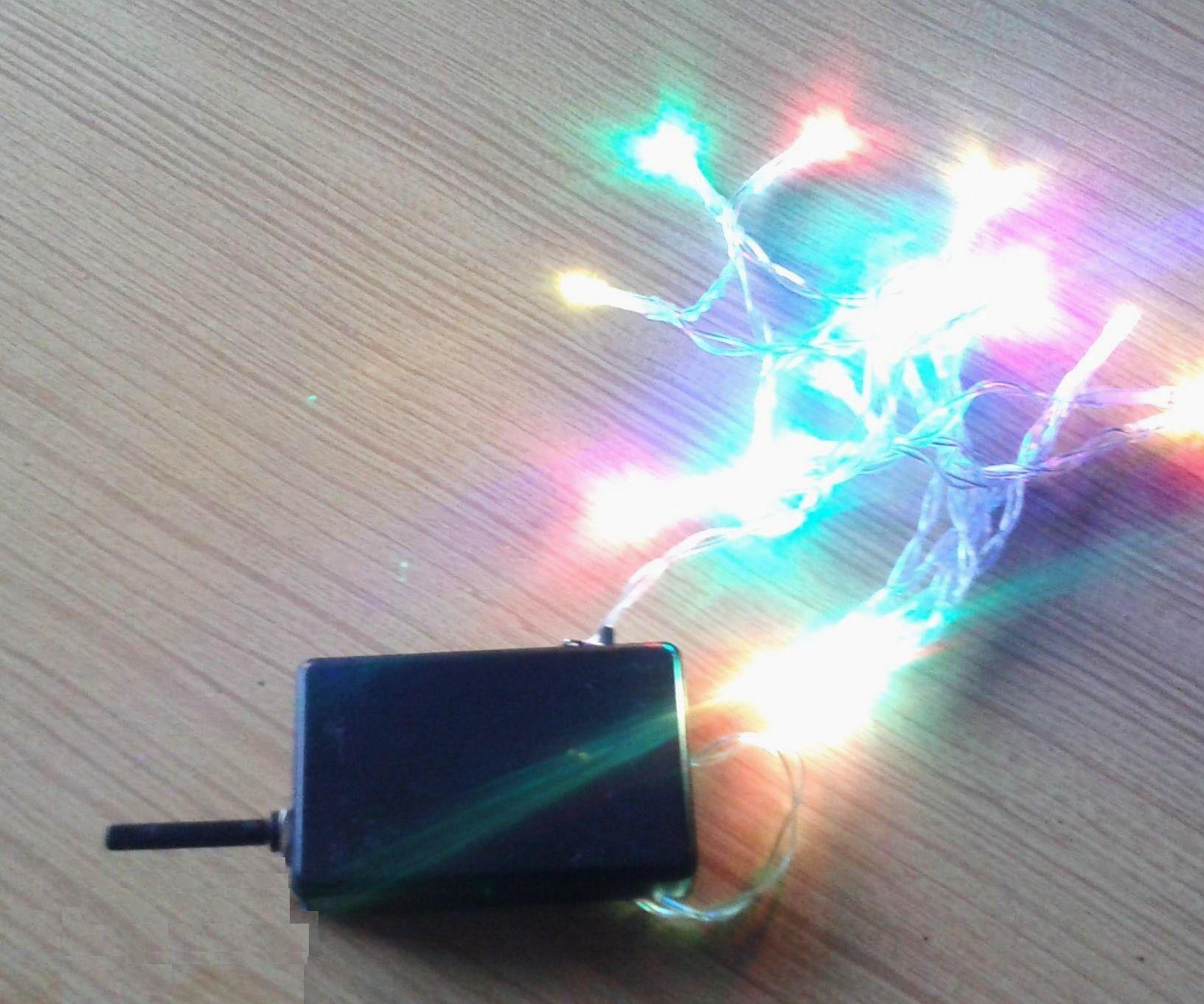 How to make blinking BP Christmas lights