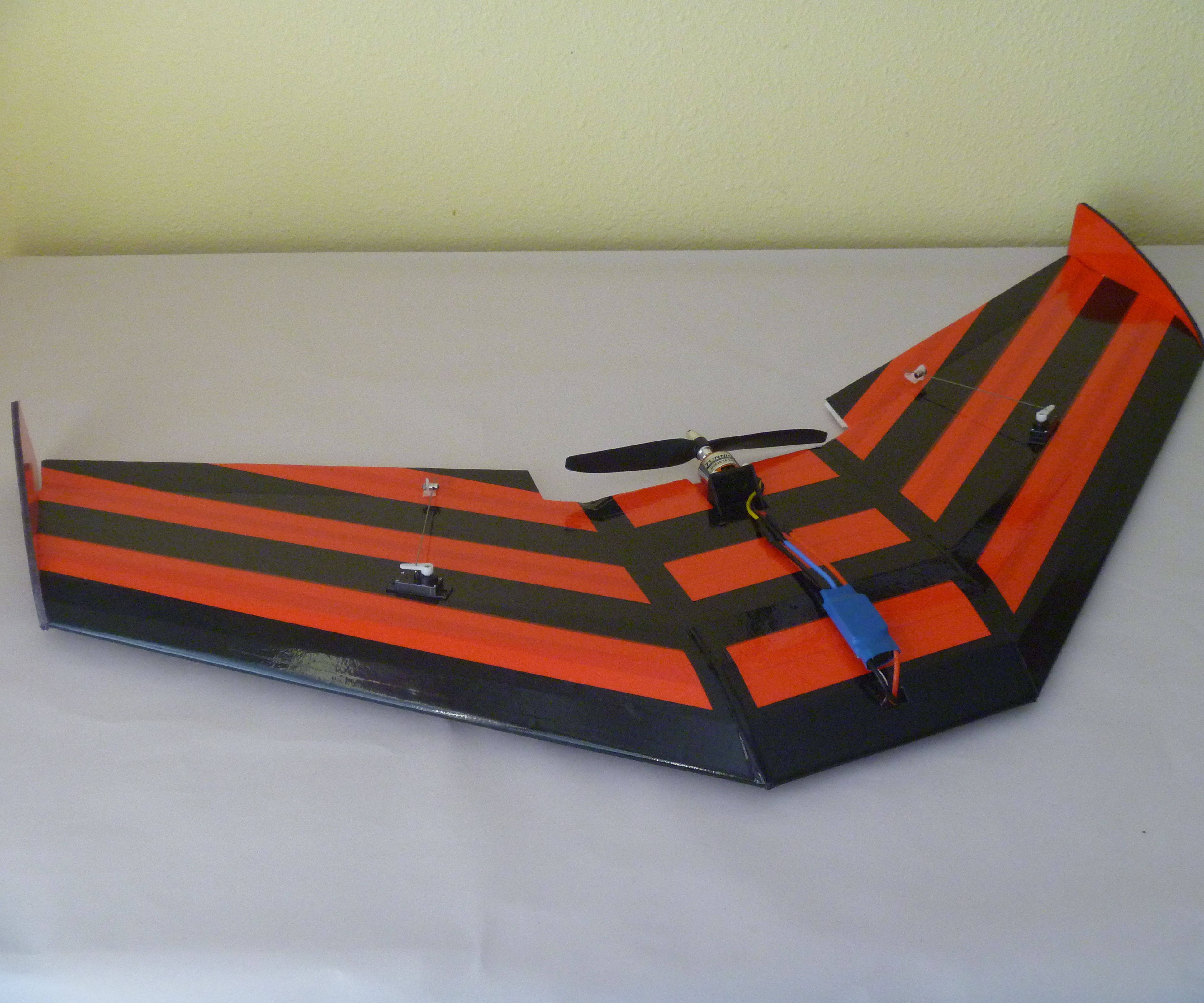 "Building ""The Frenzy"" RC Wing"