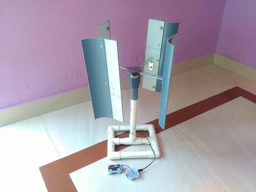 Small Wind Turbine (Vertical axis)