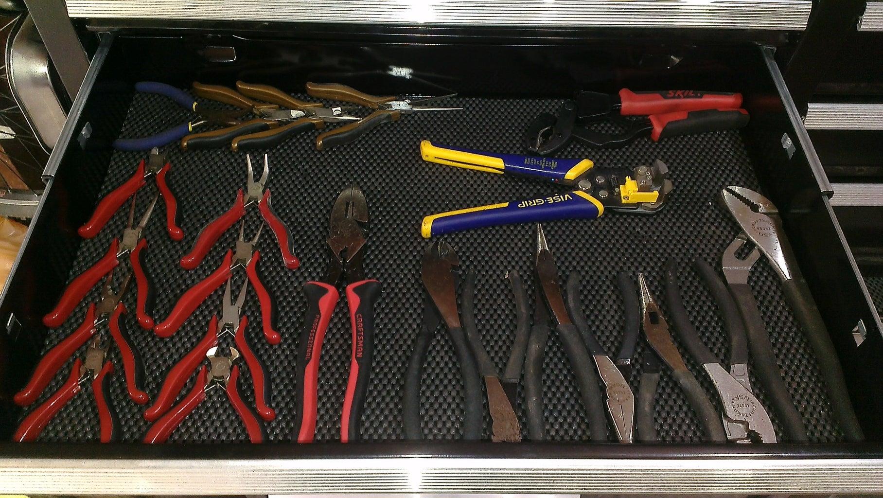 Pliers Organizer