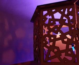 Hexagonal Lantern - Template for Lasercut
