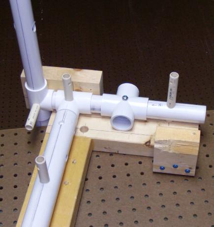 Gray Hoverman TV Antenna Plastic Frame Assembly