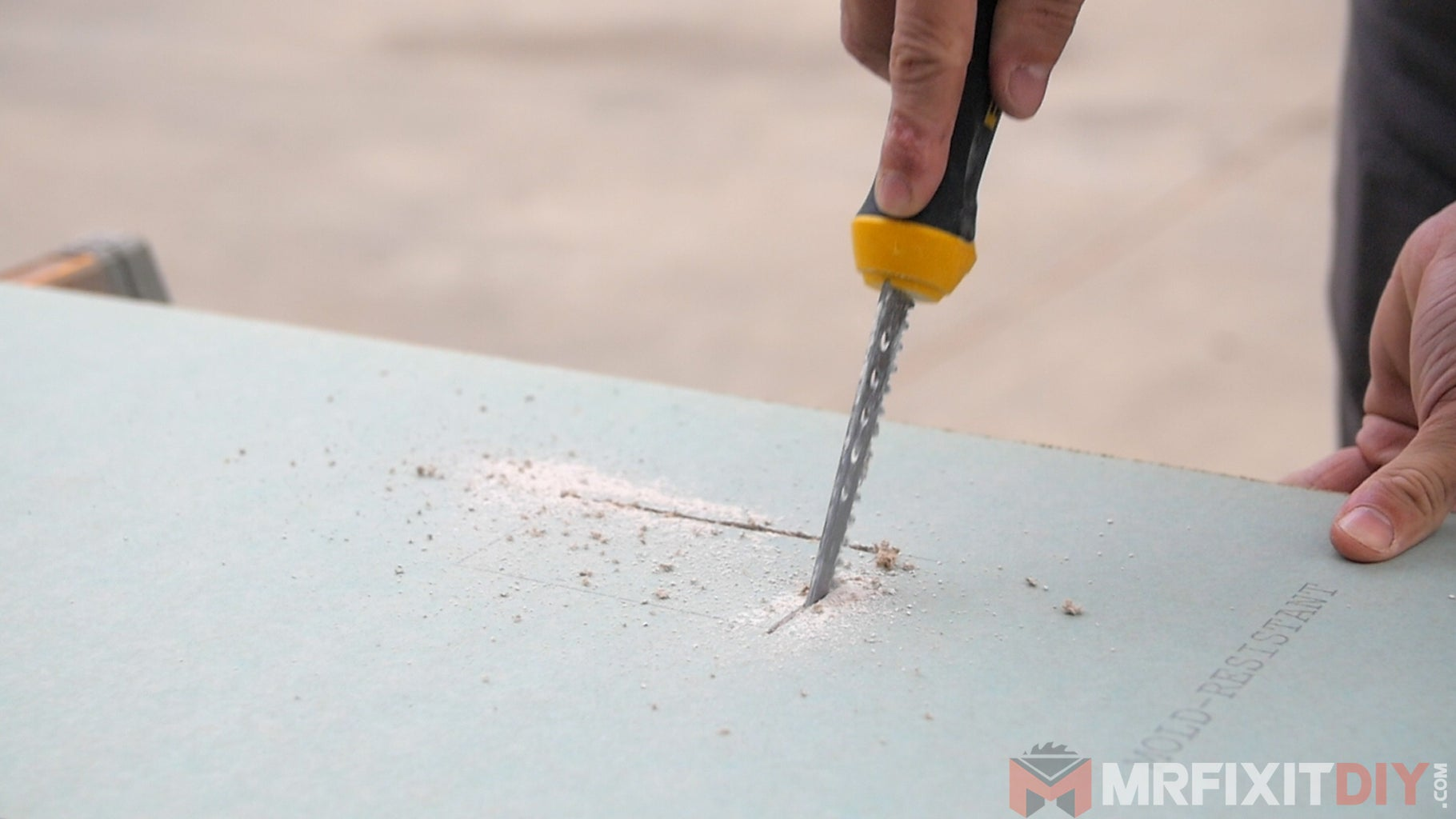 Cut Material Outside