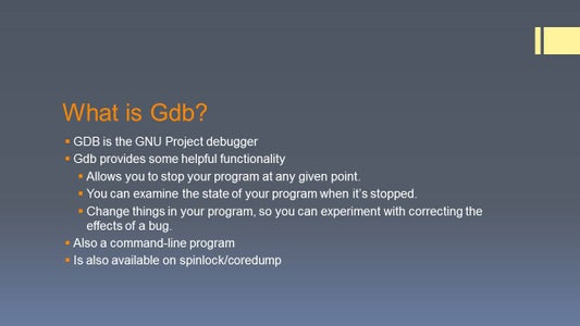 What Is GDB?