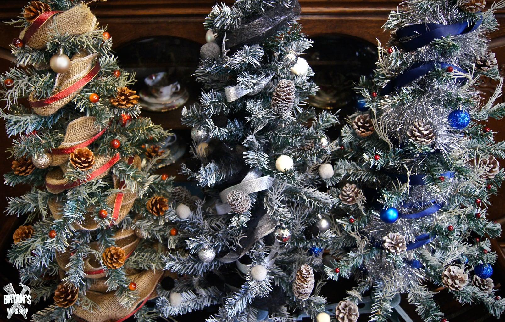 Christmas Tree Makeovers!