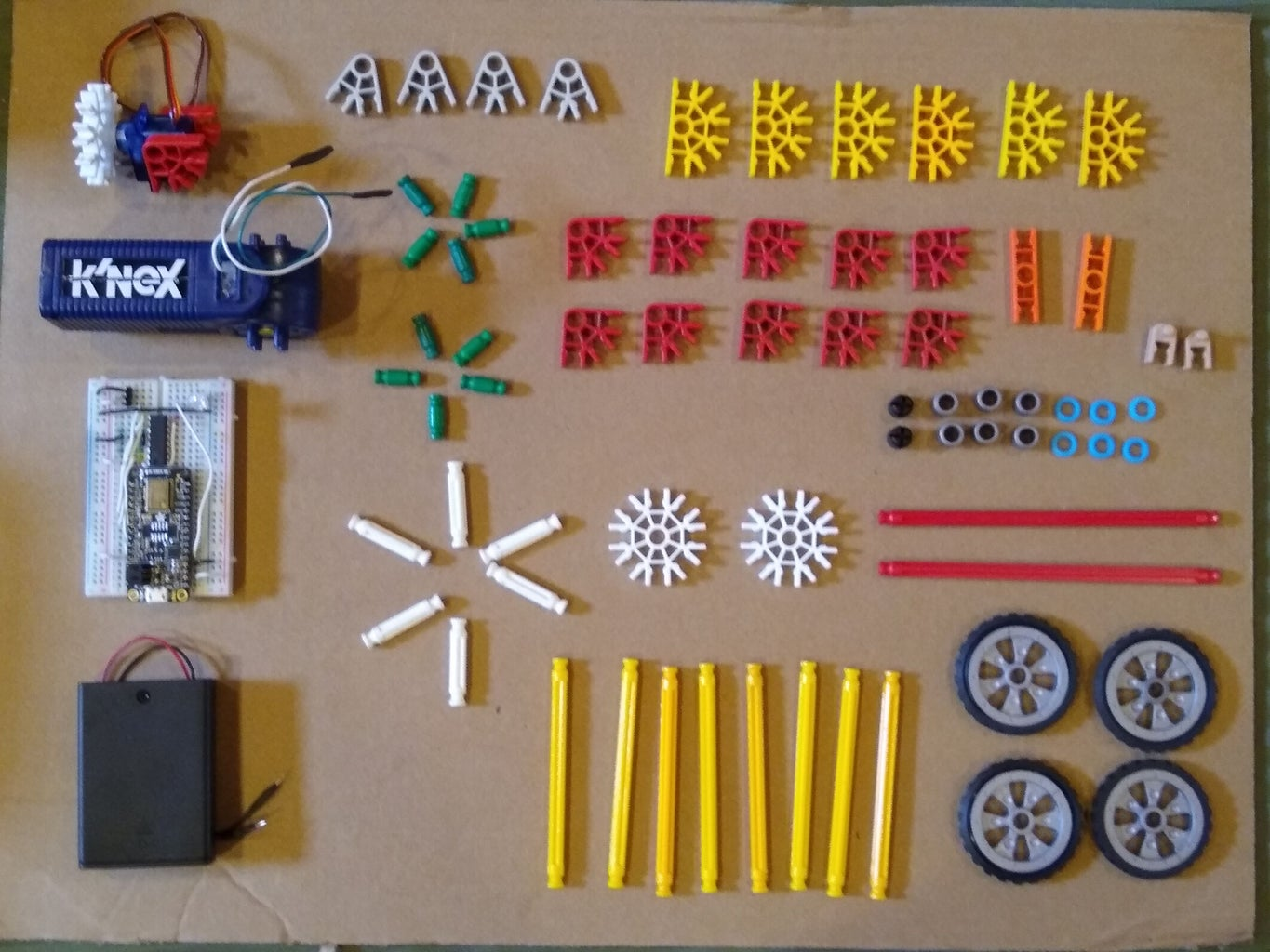 Parts Needed for the Bobble Car