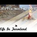 How to Start a Fire With a 2X4 and Cotton Ball (Friction Fire)