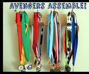 Super Hero Medal Hanger