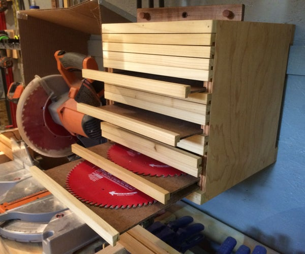 The Saw Blade Cabinet