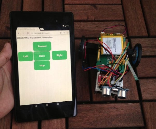 Make a Wi-Fi Controlled Robot Using LinkIt ONE