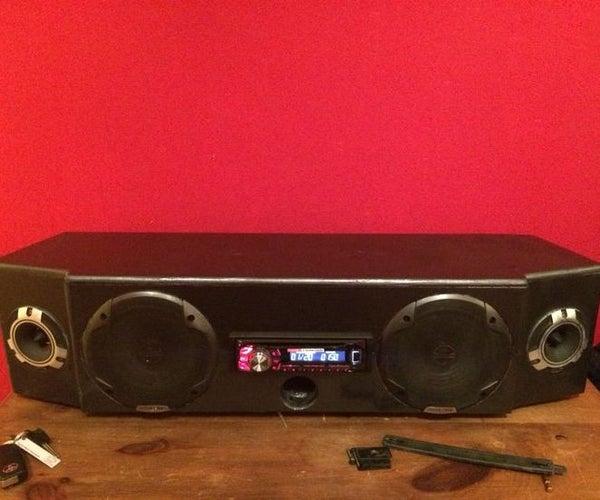 Car Audio Boom Box