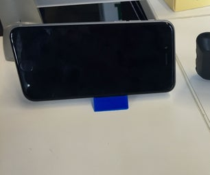 Design and 3D Print a Phone Stand