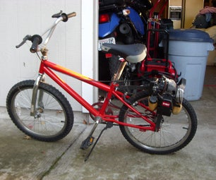 Weed Eater Motor Bike(Friction Drive)