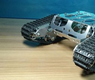 Assemble the Shock Absorber Walee Tank Chassis