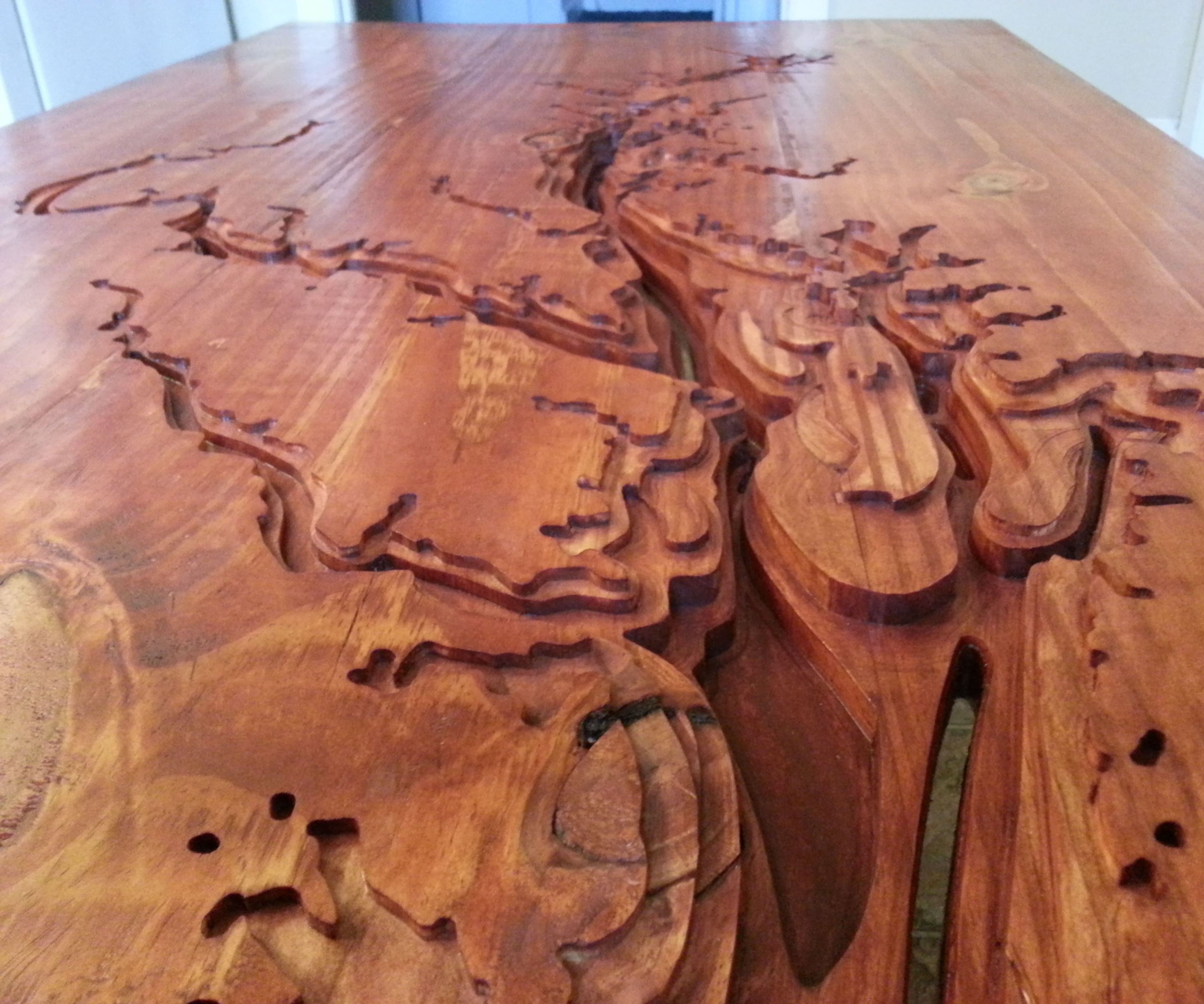 Chesapeake Bay Coffee Table