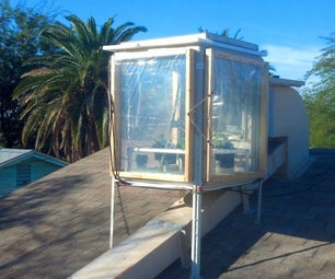 Swamp Cooler, Hydroponic, Rooftop Greenhouse