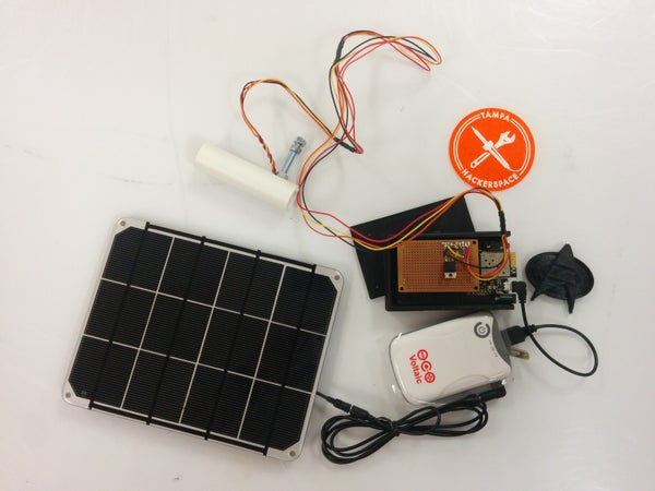 Voltaic Solar Powered Pollution Monitor