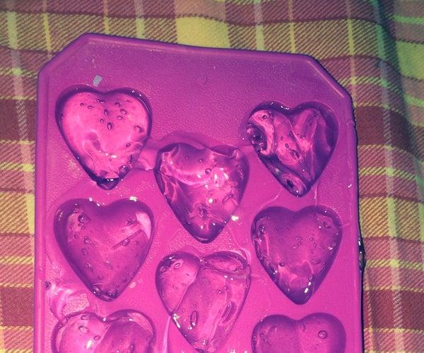 Aloe Vera Burn Hearts