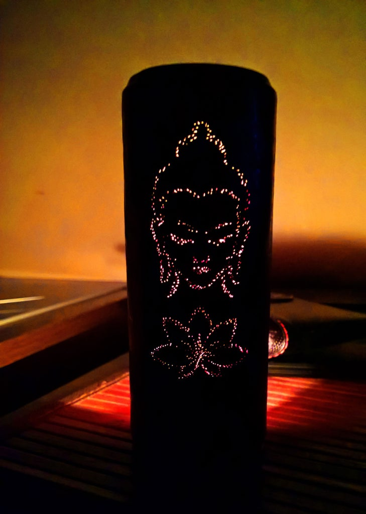 Aroma Oil Burner From Soda Can