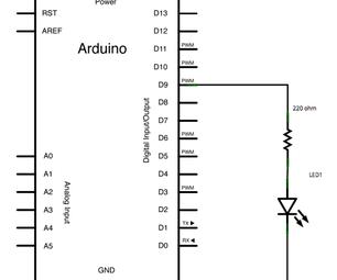 Arduino Fading Led