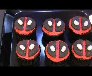 Deadpool草莓填充蛋糕