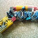 knex 1-shot pistol with real trigger