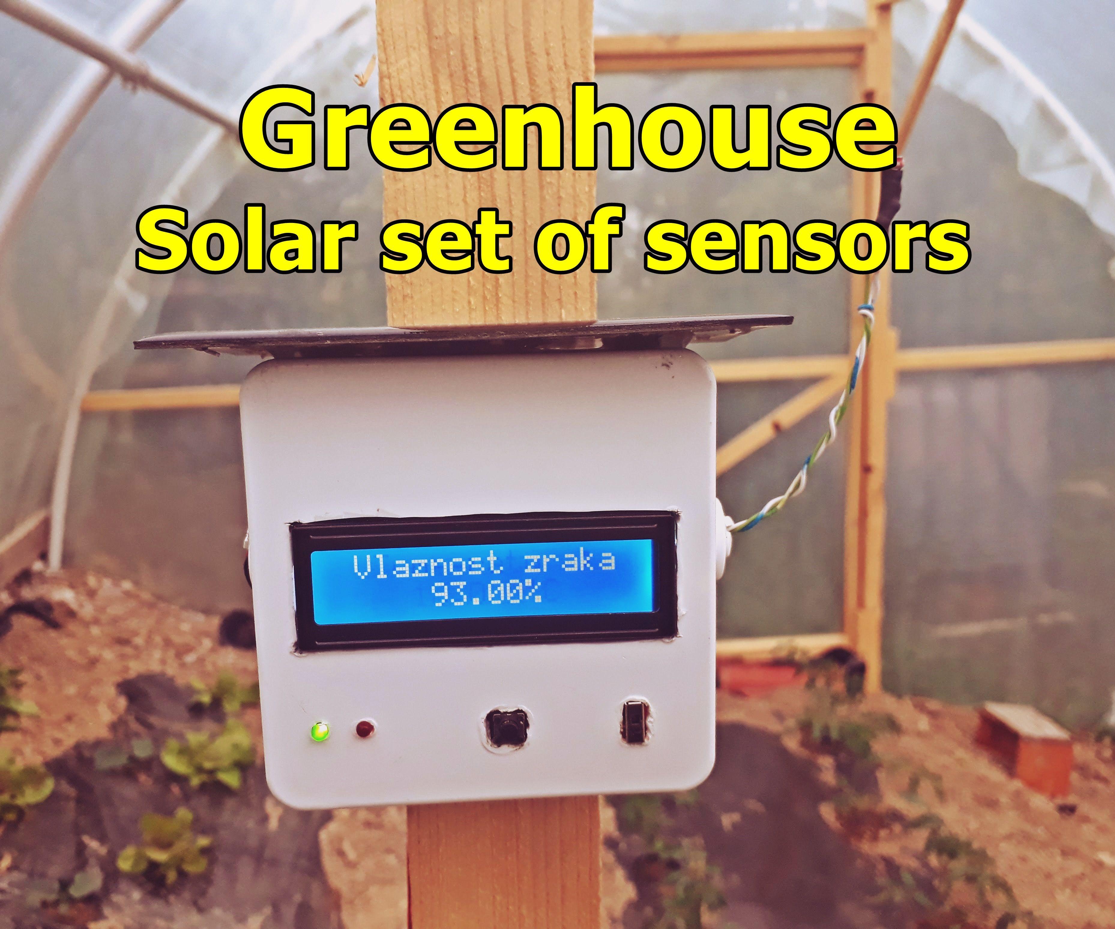 Smart Greenhouse Sensors