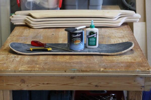 Fixing Skateboard Delamination