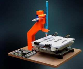 3D Printed Mini CNC Machine