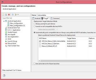 Part 4: Eclipse Mars 2 (Run Configurations)