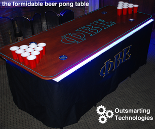 How to Make the Best Beer Pong Table on Campus